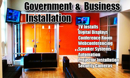 Washington-DC-Government-and-Business-TV-Installation