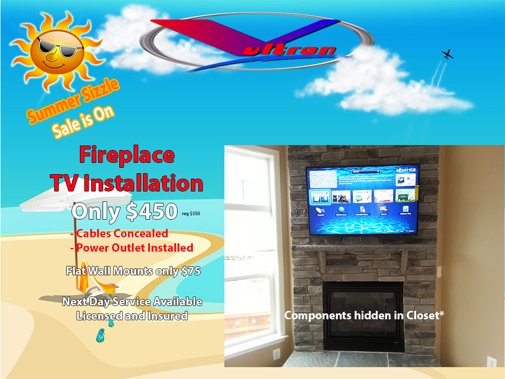 summer-sizzle-fireplace-flat-screen-installation