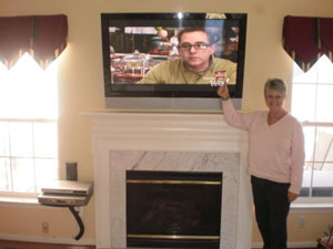 tv-installation-above-fireplace-review