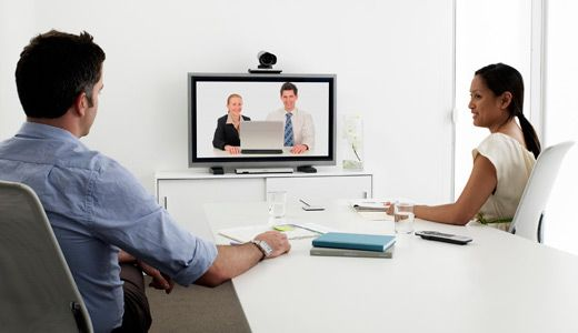 video teleconferencing installation